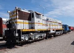 Magma Arizona (former McCloud River Railroad #29) Baldwin DRS 6-6-1500 #10 (1950).  Arizona Railway Museum, Chandler Arizona.  March 22 2015. (Dan Haneckow) Tags: chandler baldwin 2015 mccloudriverrailroad arizonarailroadmuseum magmaarizona marr10 mcrrr29 drs66150