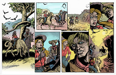 ERB Girl From Hollywood #3 Color (Zainy Seven) Tags: illustration comics edgarriceburroughs