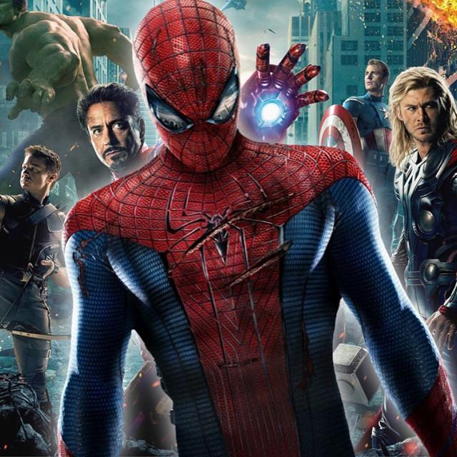 Killer combo #Spiderman #marvel #sony #avengers #thor #ironman #hawkeye #thehulk #captainamerica #blackwidow #disney