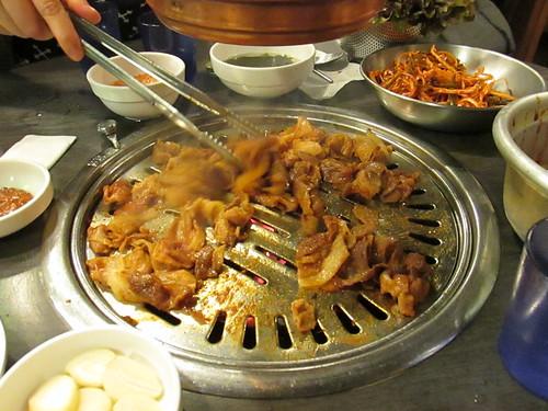 Barbecue coréen