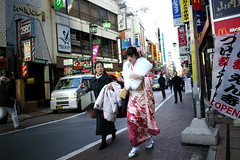 Tokyo trip 2015 #116 () Tags: road street leica ltm city trip people travelling japan publicspace walking tokyo asia day path candid voigtlander 28mm ngc stranger    manualfocus m9 l39   2015 f19  kichijji m39 voigtlander28mmf19 leicam9