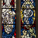 Stained glass window, SII, St Michael, Spurriergate, York
