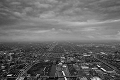 The B&W serie #11 Chicago - United States (lostin4tune - Thank's for 1.5 million views!) Tags: road city longexposure ohio sky blackandwhite bw usa white chicago black bus tower cars industry car skyline architecture clouds train canon landscape grey mono high highway noir cityscape traffic unitedstates noiretblanc cloudy michigan tripod capital perspective rail railway pollution suburb states dslr paysage blanc trafficjam ville greyscale cityline windycity hauteur états hankock extremesky skyextreme