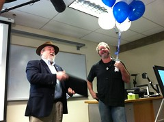 Margin of Excellence IMG_0585 (yugenro) Tags: school winter college me dave work balloons day president award keith indoors recognition rule bellevue excellence kudos margin 2015 a133 bellevuecollege