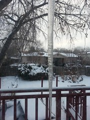 March 2, 2015 - A monstrous icicle in Thornton. (LE Worley)