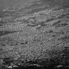 How vast is Medellin