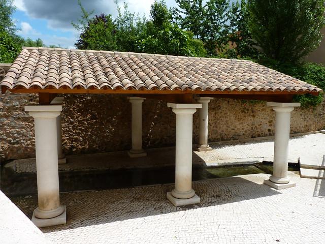 Le lavoir du quartier Source Saint-Michel