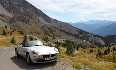 BMW Z8 - The long & winding road. (Rev426) Tags: world road street uk trip 2002 red orange usa cloud white holiday france mountains alps sports car yellow museum silver munich lunch grey mercedes drive hotel evening town photo vineyard spain nikon stream europe tour sebastian secret convertible super ferrari 1999 monaco exotic mclaren villa summit bmw bond service spotted dashboard lamborghini enough v8 lfa pyrenees v10 007 mp4 amg noble lexus maranello f430 d800 v12 z8 fmp m600 laferrari aventador mp412c v354 sb910 v354fmp