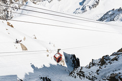 (Maya Lucchitta) Tags: snow france mountains alps gondola chamonix montblanc aiguilledumidi
