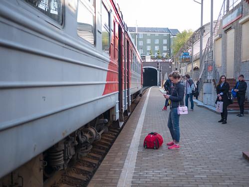 Suburban Train, Kaliningrad