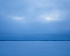 Blue Face (trm42) Tags: morning blue winter sky lake snow face clouds suomi finland frozen lumi lapua seinjoki pilvet pohjanmaa hirvijrvi jtynyt