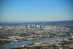 Leaving BrisVegas. 137/366 (jenniferdudley) Tags: skyline buildings skyscrapers australia brisbane cbd brisbanecity day137366 366the2016edition 3662016 16may16