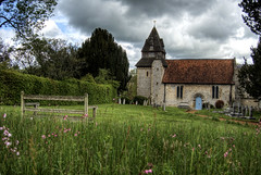 The Church at Easton (neilalderney123) Tags: flower church architecture seat hampshire norman wildflowers winchester easton 2016neilhoward