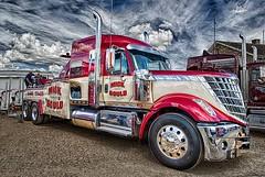 International Breakdown Truck. (bainebiker) Tags: uk transport peterborough hdr cambridgeshire towtruck bigrig mickgould canonef24mmf14liiusm truckfestpeterborough2016 internationalbreakdowntruck