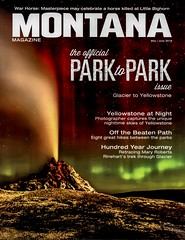 Congrats to Robert Howell for making the cover of Montana Magazine & a 7 pg spread in the May - June issue (CL Taylor) Tags: magic yellowstonenationalpark northernlights auroraborealis geysers nightshooting 2016 whitedomegeyser mtmagazine roberthowell landscapestars bobhowell mayjuneissue httproberthowellphotographycomnight
