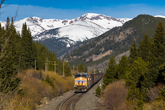 Coal on the Moffat Sub (Kyle Yunker) Tags: railroad mountains train pacific union rocky ge