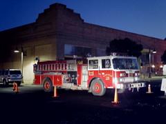 Clarkdale Fire truck blocking Main (EllenJo) Tags: arizona mainstreet pentax az event blockparty mytown fridaynight streetparty verdevalley 2016 may27 smalltownlife clarkdalearizona 86324 ellenjo ellenjoroberts summerinaz may2016 pentaxqs1