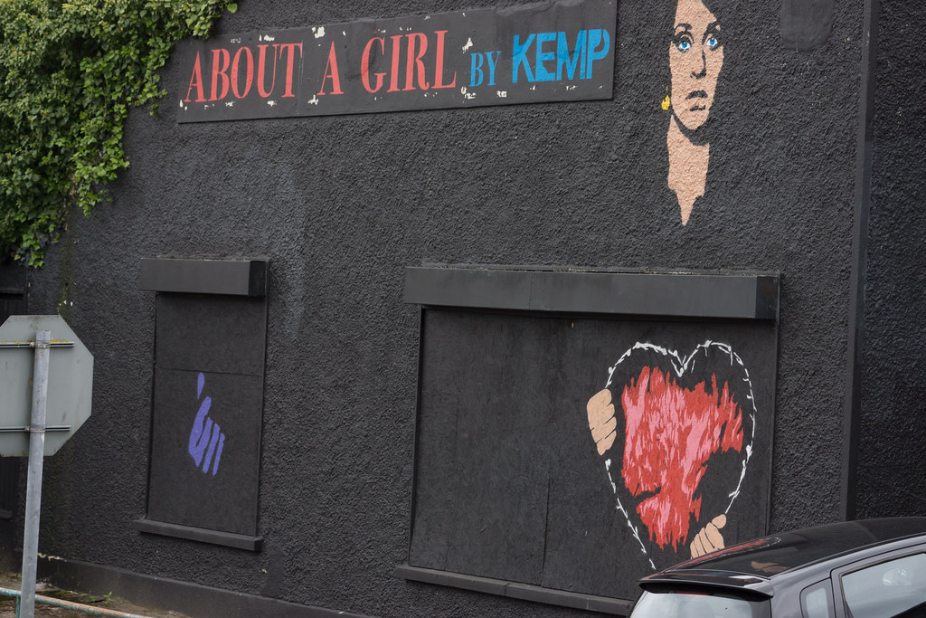 ABOUT A GIRL BY KEMP [WATERFORD WALLS PROJECT AT NEWGATE STREET]-116361