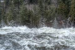 160427-26 Top d'une chute (clamato39) Tags: canada tree water eau waterfalls arbre chutes provincedequbec latuque chutesdelapetitebostonnais