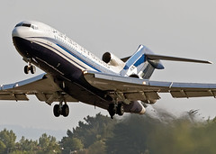 VPBPZ 727 Peter Nygard (Anhedral) Tags: boeing takeoff 727 shannonairport classicairliner valsan 72717 peternygard vpbpz