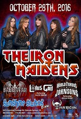 Iron Maidens w WFJS (WorldFamousJohnsons) Tags: halloween rock metal concert women october colorado wasp metalmusic coloradosprings wf tribute rockband johnsons ironmaiden halloweenparty rockers rockconcert hairband fridaynight denvercolorado concerttickets metalheads coverband judaspriest ustour worldtour tributeband 2016 worldfamous rockbands roctober tributebands ironmaidens femaleband 102816 sunshinestudio sunshinebaby coloradobands theironmaidens painmachine womenofmetal worldfamousjohnsons best303sounds worldfamousbands worldfamouspaintings hairmetalmansion wfjohnsons sabbatar lotusgait wfjs october282016 10282016 sonsofpriest