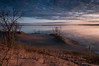Hiking on the sand dunes at dawn (jaros 2(Ron)) Tags: ontario canada dawn sand raw dunes sandbanks sanddunes manfrotto sandbanksprovincialpark superwide ndgrad tokina111628 nikond300s formathitech