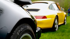 Family (mister_hashtag) Tags: family black cars coffee yellow may turbo anderson porsche kin 930 993 larz 2016 c4s porsches