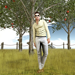 Grassy (The Virtual Gent) Tags: world sunglasses fashion shirt pose hair glasses necklace eyes hands shoes pants skin zoom top fat id ears jewelry mandala shades location sl secondlife virtual trousers sideburns facialhair gent poses gentleman thegates tmd virtualworld tvg modulus slink malefashion aitui hairbase secondlifetravel mensfashion deadwool insufferabledastard thebodyco meshears kokoia meshhands themensdepartment clefdepeau skbio skbioanimations themensdept thevirtualgentleman thevirtualgent fabulousandtrendy