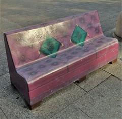 The Sofa (ArtFan70) Tags: usa art america bench ma unitedstates massachusetts newengland sofa springfield metrocenter sculpturegarden fitz thesofa gfitz drseussnationalmemorialsculpturegarden springfieldmetrocenter