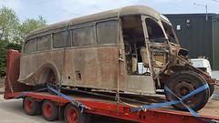 13220036 Andrews,  Tideswell MRB 765 (Skillsbus) Tags: england buses bedford andrews derbyshire peakdistrict tideswell vista ob coaches duple mrb765