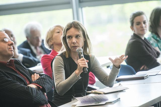 Meirav Moran questions participants
