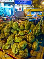 DSC_0398 (inkid) Tags: street travel fruits fruit sony photograph malaysia durian kuala dual jalan premium lumpur z5 alor xperia