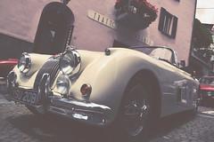 Jaguar XK 150 3,4 Litre (1958) (C-Smooth) Tags: cars beauty race design motors historical jaguar mito autodepoca interesse elegance valtellina passione divertimento xk150 convivio berbennodivaltellina summermarathon csmooth stefanocabello tizianotraversi barcafftraversi