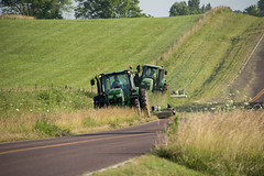 D6060_CM-131 (MoDOT Photos) Tags: green rural heavyequipment colecounty mowers centraldistrict modot safetygear bycathymorrison d6060
