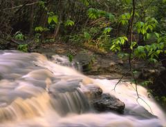 (andrewethomp) Tags: longexposure sunset ohio color film mediumformat waterfall 645 fuji outdoor slidefilm velvia timer f11 mamiya645 80mm tippcity 50asa 400h iso50 mamiya645afd charlestonfalls sprintscan120