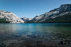 Tenaya Lake, Yosemite National Park (SteveJamesPhotography) Tags: california blue summer sky lake mountains green nature canon landscape nationalpark rocks natural outdoor scenic yosemite granite bliss setting tenayalake tiogapass 24105mm canon5dmk3