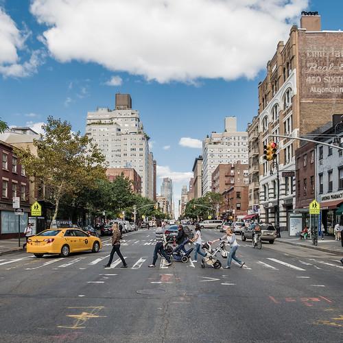 mothers crossing   new york city, september 2014   #LumixGX7