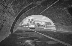 Under the bridge (MassiVerdu) Tags: street city longexposure travel bridge urban blackandwhite bw paris france church monument river landscape blackwhite cityscape cathedral monumento fiume streetphotography bn ponte notredame chiesa urbanexploration dome streetphoto duomo francia streetscape senna bianconero paesaggio biancoenero urbanlandscape parigi blackandwhitephotography urbanphotography urbex urbanphoto iledelacite blackandwhitephoto travelphotography travelphoto streetpicture travelpicture lungaesposizione longexposurephoto paesaggiourbano blackandwhitelandscape longexposurephotography fotografiainbiancoenero fotografiadistrada longexposurepicture fotografiadiviaggio fotografiadicitt