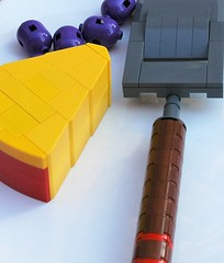 Cheese and grapes (2) (adde51) Tags: food cheese dessert funny lego grapes grater moc adde51