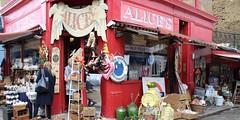 Portobello Alices (lookaroundandsee) Tags: london nottinghill potobello shopping