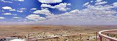 Meteor Crater Neighborhood (C r u s a d e r) Tags: arizona panorama desert az winslow barringer ptgui pentaxk3
