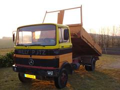 MB LP 813 (Vehicle Tim) Tags: truck mercedes lp kipper oldtimer mb fahrzeug lkw