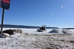 Corps takes first Lake Pepin ice measurements of the season (USACE HQ) Tags: navigation lakepepin usarmycorpsofengineers corpsofengineers stpauldistrict icemeasurements