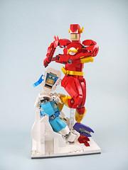 I'm the Flash (bricks.life.idea) Tags: lego superhero dccomics theflash captaincold