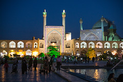 Shah Mosque 11 (Martin Tsvetkov) Tags: travel architecture photography lights iran perspective mosque wallpapers isfahan shah