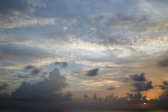 Maldives (Benjamin Griffiths) Tags: blue sunset sky orange sun yellow clouds dramatic calm resort filter nd villa rays suite maldives ras bungalow fushi nd10 centara