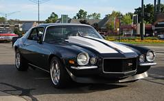 1970-1973 Chevrolet Camaro Z28 (RudeDude2140a) Tags: black classic chevrolet sports car 1971 camaro 1970 1972 coupe 1973 z28