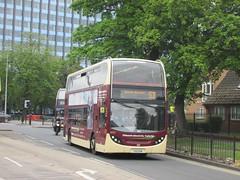 East Yorkshire 906 YX11DVN Rawling Way, Hull on 57 (1280x960) (dearingbuspix) Tags: eastyorkshire 906 eyms dieselelectrichybrid yx11dvn