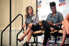 Robin Thede & Ashley Yates (Gage Skidmore) Tags: california anna robin ashley center convention carolina sterling pasadena alison yates hurley sanders 2016 grimes symone thede lundergan politicon