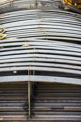 Steunen voor de ronde buitenwand (G. Warrink) Tags: architecture construction industrial steel welding engineering watchtower appelscha bosberg heuvelmanibis
